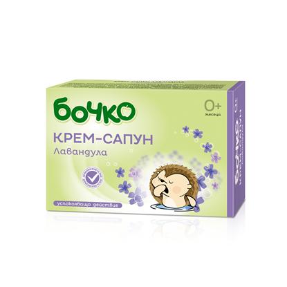 Снимка на БОЧКО КРЕМ-САПУН ЛАВАНДУЛА 75 ГР.