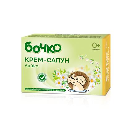 Снимка на БОЧКО КРЕМ-САПУН ЛАЙКА 75 ГР.
