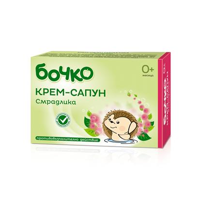 Снимка на БОЧКО КРЕМ-САПУН СМРАДЛИКА 75 ГР.