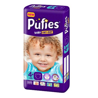 Снимка на PUFIES ART+DRY/ПУФИС АРТ+ДРАЙ 4+ 9-16 КГ. Х 50 БР.