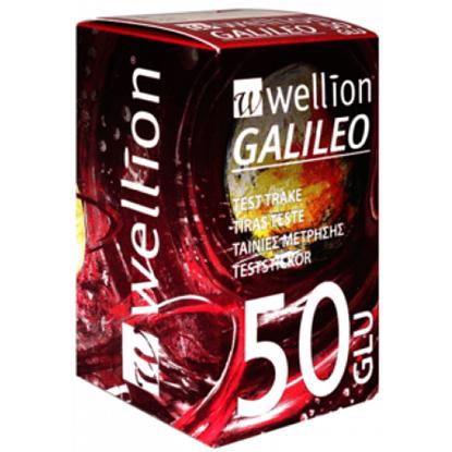 Снимка на WELLION GALILEO/ВЕЛИОН ГАЛИЛЕО ТЕСТ ЛЕНТИ ЗА КРЪВНА ЗАХАР 50 БР.